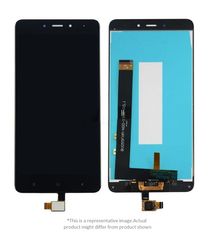 Display  for Redmi 4  -  With Frame (Black)
