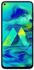 Samsung Galaxy M40 (Midnight Blue, 128 GB)  (6 GB RAM) - Light Used