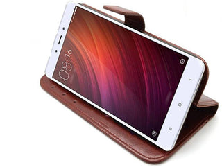 online store 25d66 8745c Mercury Flip Cover for Vivo V7 Plus (Choclate Brown, Leather)