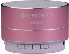 Zebronics Noble Plus Bluetooth Speaker  (ROSE GOLD, Stereo Channel)