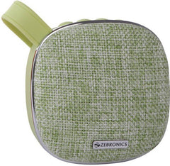 Zebronics ZEB-PASSION 3 W Bluetooth Speaker  (Green, 2.1 Channel)