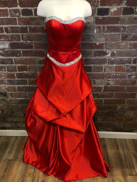 Red Prom Dress Size Small