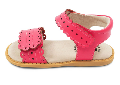 Livie & Luca Posey Sandal: Rosy Pink