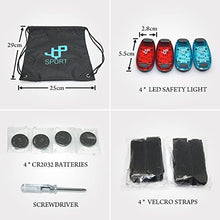 Sports Running Vest and 4 LED Safety Lights