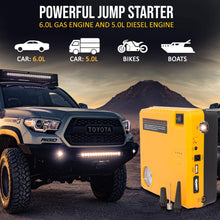 Car Jump Starter Air Compressor Pump 600A