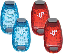 Sports Running Vest and 4 LED Safety Light Sets (2PACK)