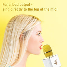2 Mics in 1 Set Karaoke Microphone