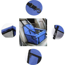 Load image into Gallery viewer, Deluxe Booster Seat for Dogs and Pets | For Cars and SUVs