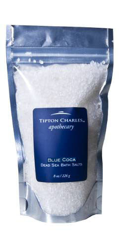 Dead Sea Bath Salts (8 oz) Blue Coca