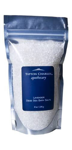 Dead Sea Bath Salts (8 oz) Lavender