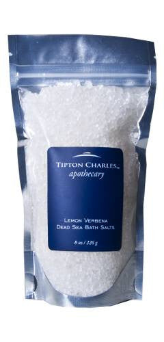 Dead Sea Bath Salts (8 oz) Lemon Verbena