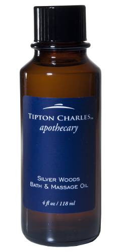 Bath & Massage Oil Silver Woods