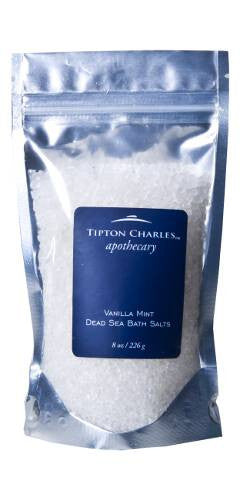 Dead Sea Bath Salts (8 oz) Vanilla Mint
