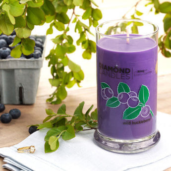 Wild Huckleberry Ring Candle