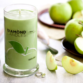 Apple Slice Ring Candle