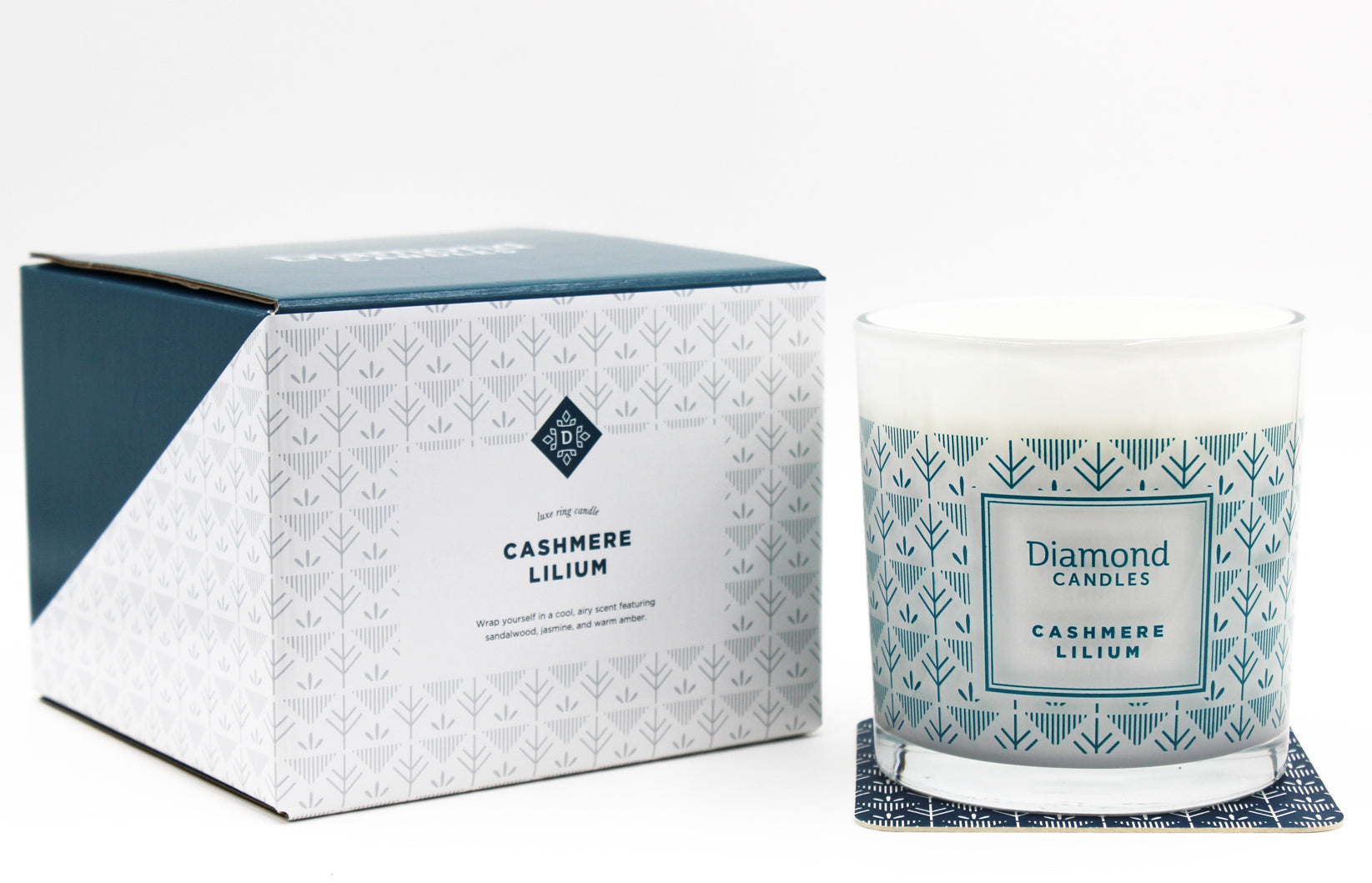 Standard Cashmere Lilium Luxe Ring Candle
