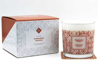 Cinnamon Saigon Luxe Ring Candle With Sterling Silver Ring