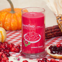 Cranberry Chutney Ring Candle