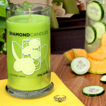 Cucumber Melon Ring Candle