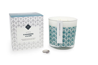 Cashmere Lilium Luxe Ring Candle Standard