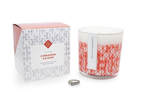 Cinnamon Saigon Luxe Ring Candle Standard