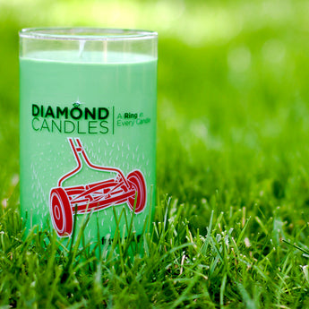 Fresh Cut Grass Ring Candle
