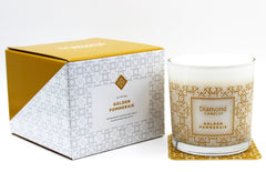 Standard Golden Pommeraie Luxe Ring Candle