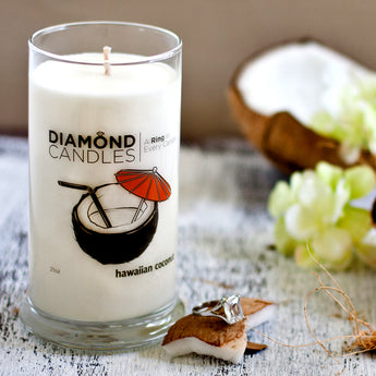 Hawaiian Coconut Ring Candle