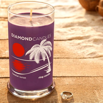 Hawaiian Sunset Ring Candle