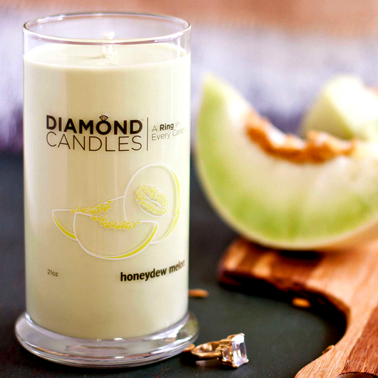 Honeydew Melon Ring Candle