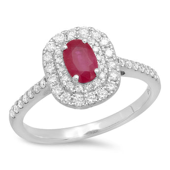 0.42CT 11-12/H-I  RUBY-0.65CT