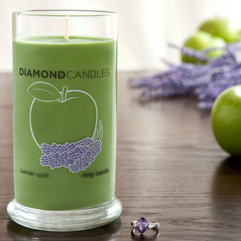 Lavender Apple Ring Candle