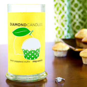 Lemon Poppyseed Muffin Ring Candle