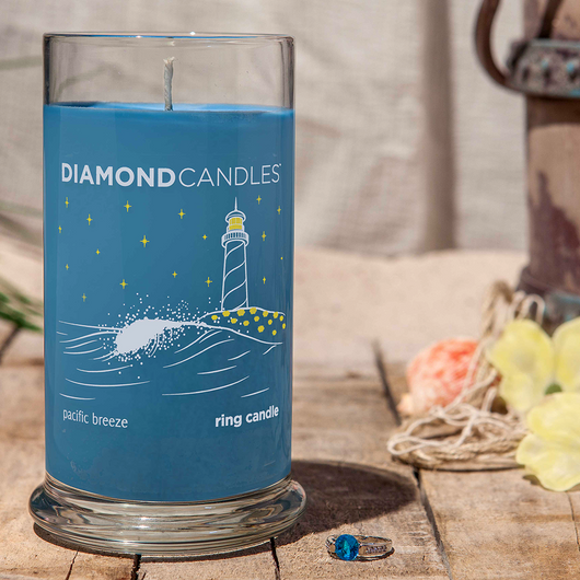 Pacific Breeze Ring Candle