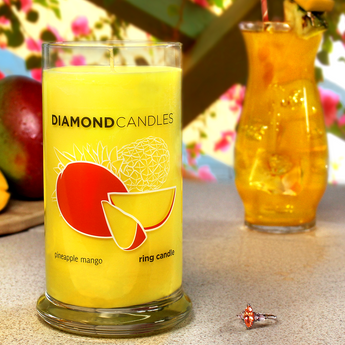 Pineapple Mango Ring Candle
