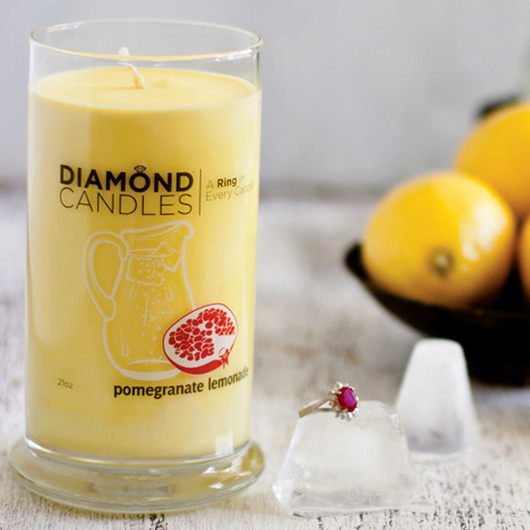 Pomegranate Lemonade Ring Candle