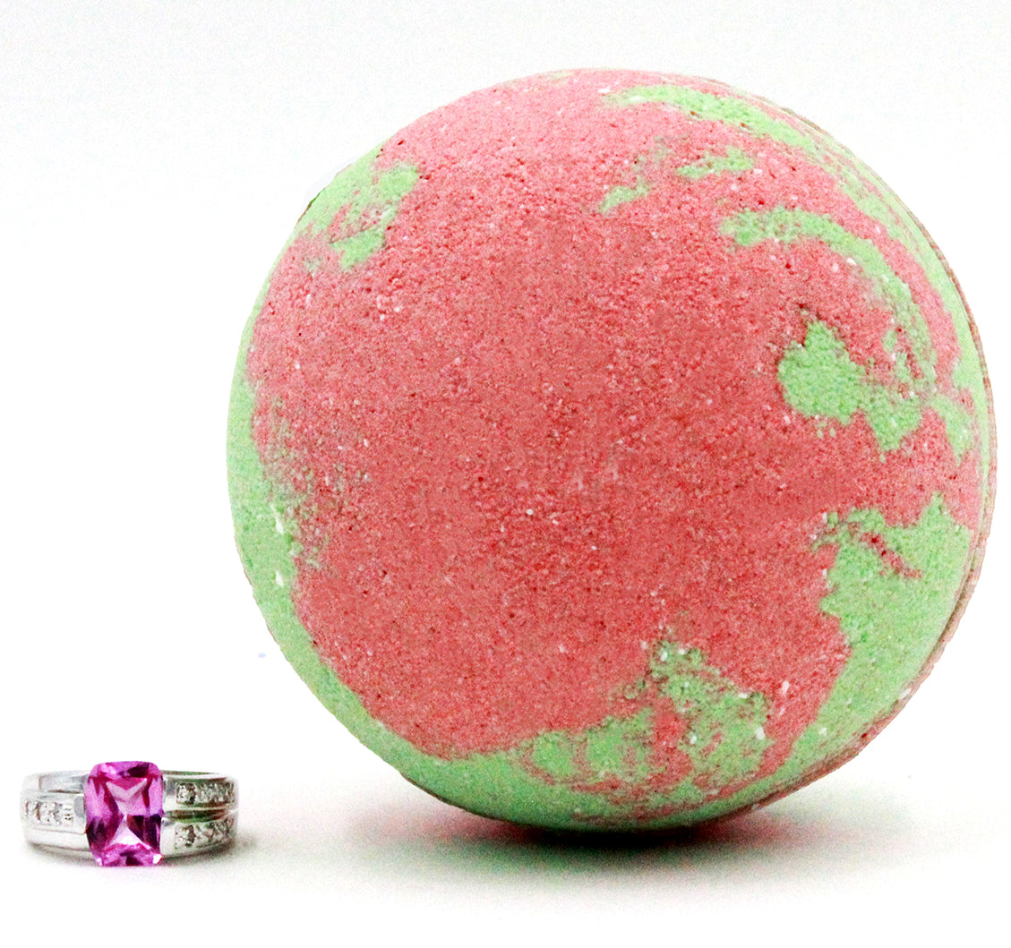 Rose & Sandalwood Ring Bath Bomb (Pick Your Size)