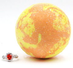Sweet Citrus Ring Bath Bomb (Pick Your Size)