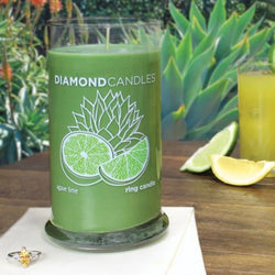 Agave Lime Ring Candle