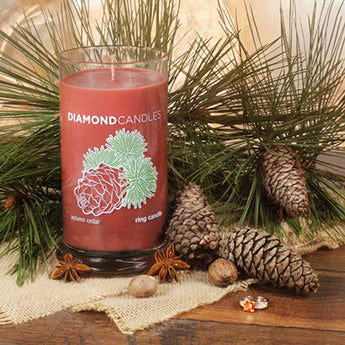 Autumn Cedar Ring Candle