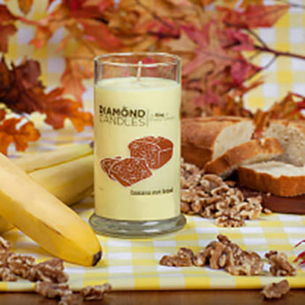 Banana Nut Bread Ring Candle