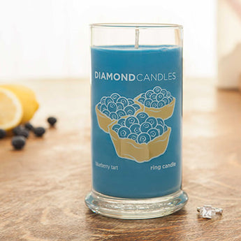 Blueberry Tart Ring Candle
