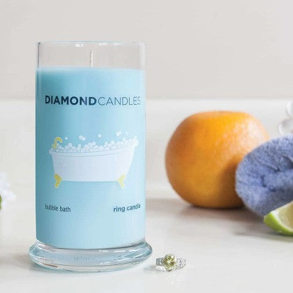 Bubble Bath Ring Candle
