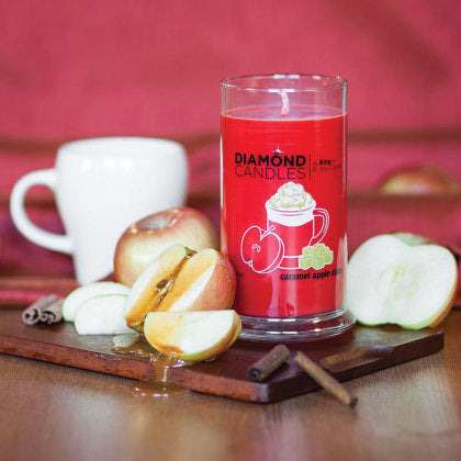Caramel Apple Cider Ring Candle