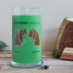 Cedar Grove Ring Candle