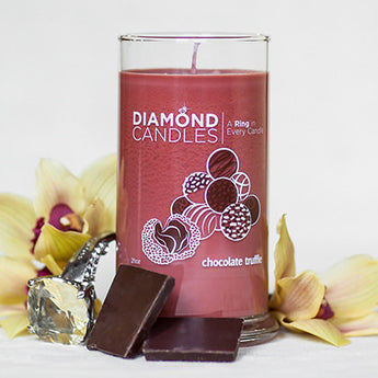 Chocolate Truffle Ring Candle