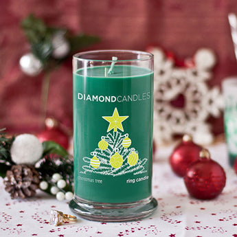Christmas Tree Ring Candle