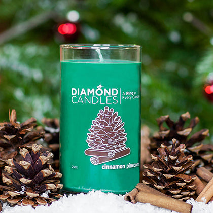 Cinnamon Pinecone Ring Candle