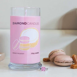Coconut Macaroon Ring Candle