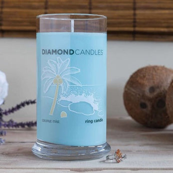 Coconut Mist Ring Candle